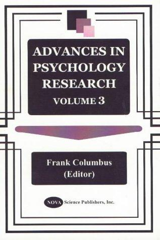 Download Advances in Psychology Research
