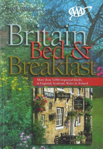 AAA Britain Bed & Breakfast Guide by American Automobile Association.