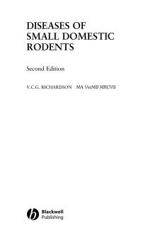 Diseases of small domestic rodents by V. C. G. Richardson