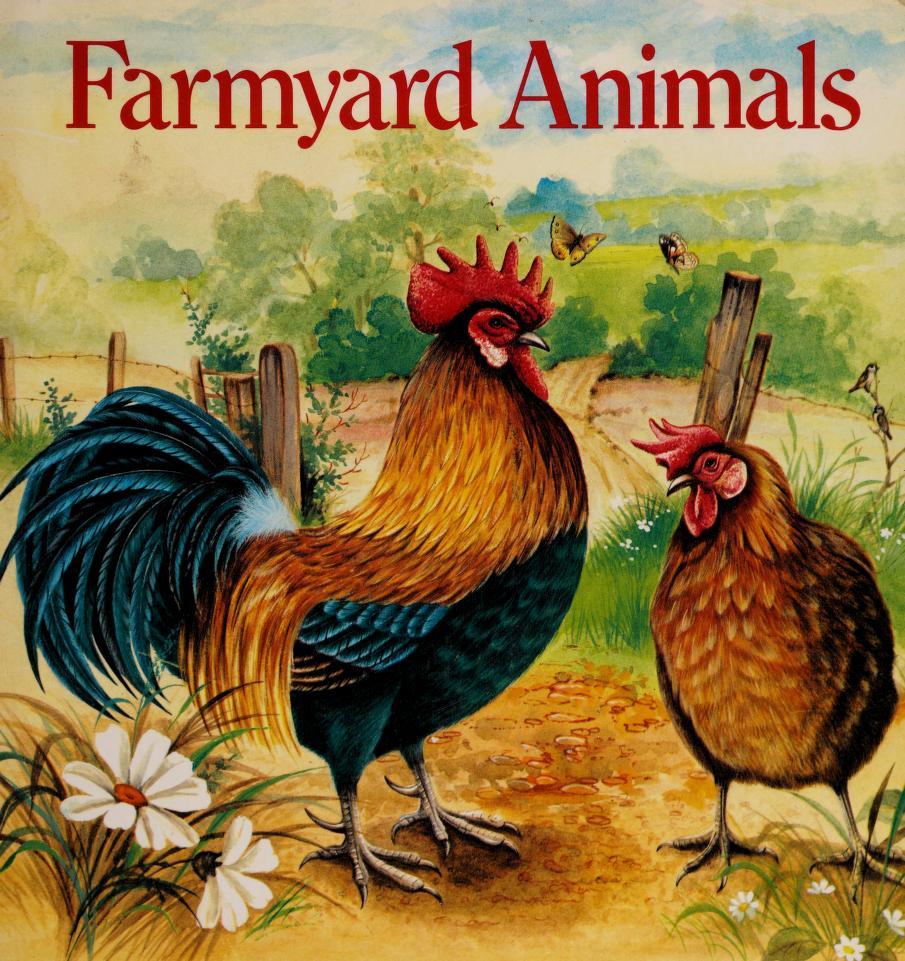 Farmyard Animals (Animal Board Book) by RH Value Publishing