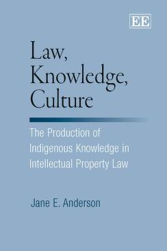 Law, knowledge, culture by Jane E. Anderson