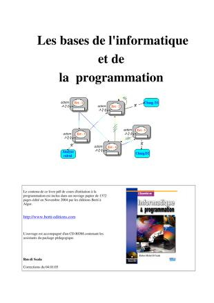 L'essentiel de l'informatique & [et] de la programmation by Robert-Michel di Scala