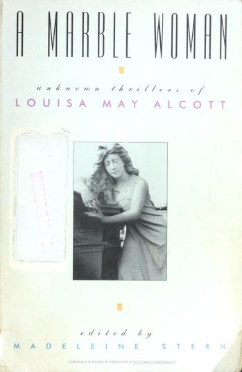 Cover of: A marble woman | Louisa May Alcott