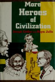 Cover of: More heroes of civilization | Joseph Cottler