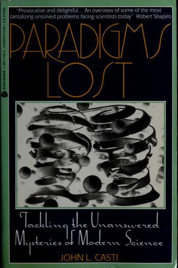 Cover of: Paradigms lost | John L. Casti