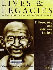 Cover of: Philosophers and religious leaders | edited by Christian D. von Dehsen