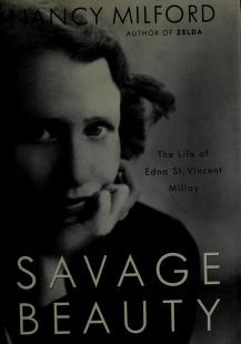 Cover of: Savage beauty | Nancy Milford