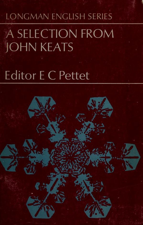 Selection from Keats (LES) by Pettet/E C