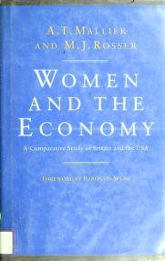 Cover of: Women and the economy by A. T. Mallier