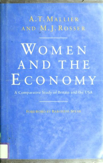 Women and the economy by A. T. Mallier