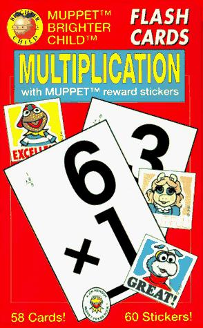 Multiplication/Flash Cards With Muppet Reward Stickers by American Education Publishing