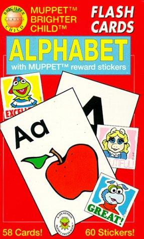 Alphabet/Flash Cards With Muppet Reward Stickers by American Education Publishing