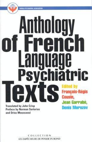 Libro de segunda mano: Anthology of French Language Psychiatric Texts